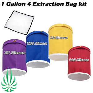1 gallon 4 bags herb bag