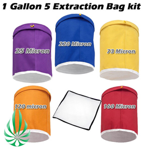 1 gallon 5 bags bubble bag kit