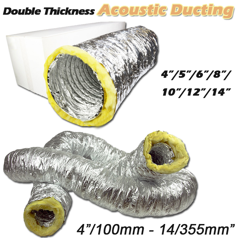 "4"" Acoustic Ducting"