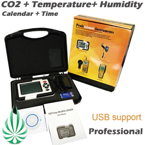 Carbon Dioxide CO2 Air Temperature Humidity meter