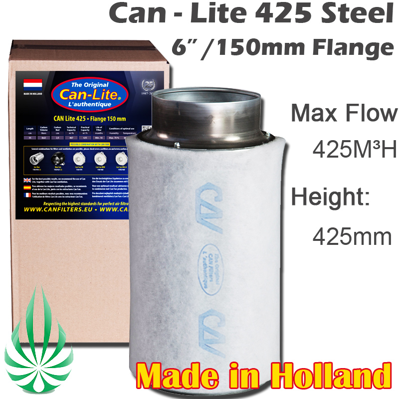 "can filter 6"" gt425 steel"