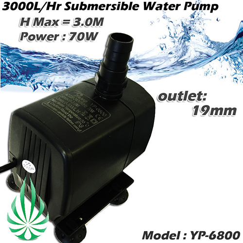 submersible water pump 3000L