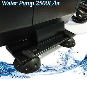 submersible hydroponics water pump 2500L details